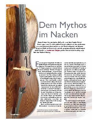 Dem Mythos im Nacken
