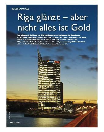 Riga glänzt - aber nicht alles ist Gold