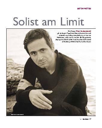Solist am Limit