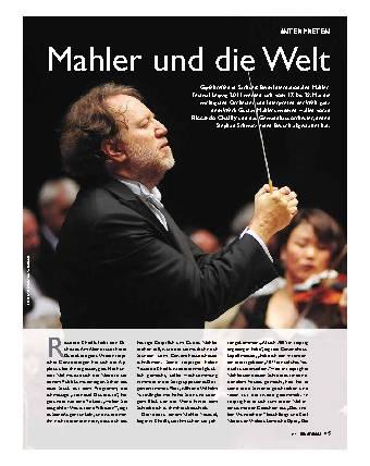 Mahler und die Welt