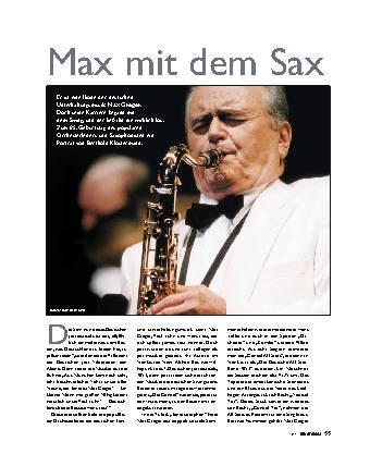 Max mit dem Sax