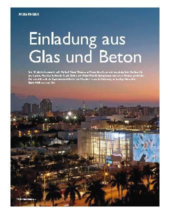 Einladung aus Glas und Beton