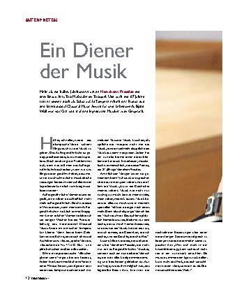Ein Diener der Musik
