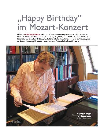 Happy Birthday im Mozart-Konzert