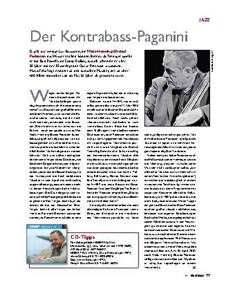 Der Kontrabass-Paganini