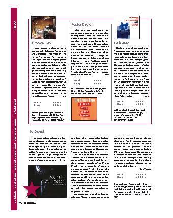 Jazz/CD-Register