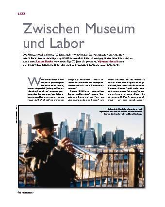 Zwischen Museum und Labor