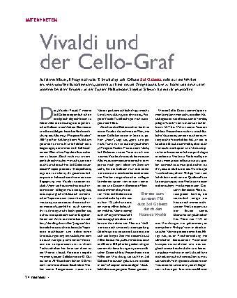 Vivaldi und der Cello-Graf