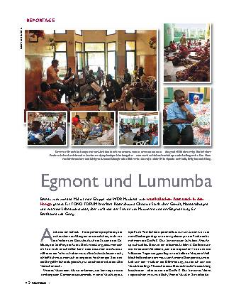 Egmont und Lumumba