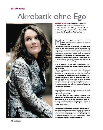 Akrobaten ohne Ego