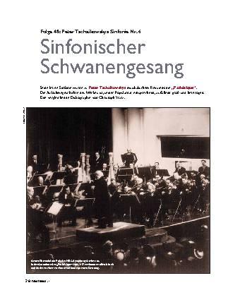 Sinfonischer Schwanengesang