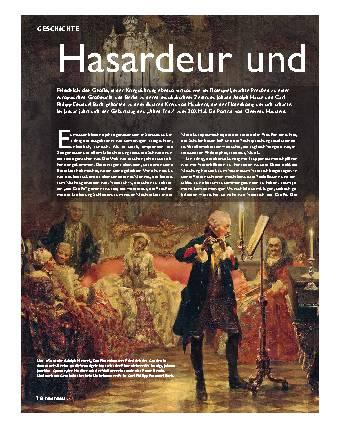 Hasardeur und Feingeist
