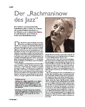Der Rachmaninow des Jazz