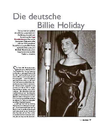 Die deutsche Billie Holiday