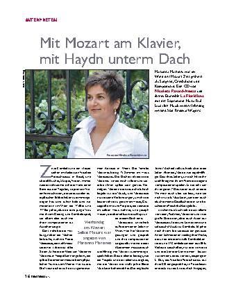 Mit Mozart am Klavier, mit Haydn unterm Dach