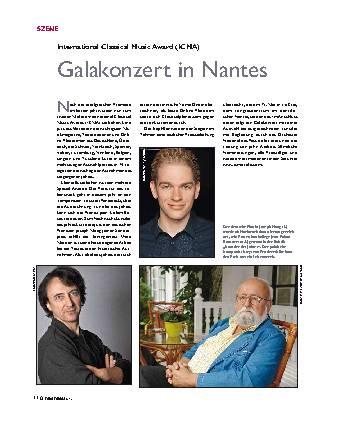Galakonzert in Nantes