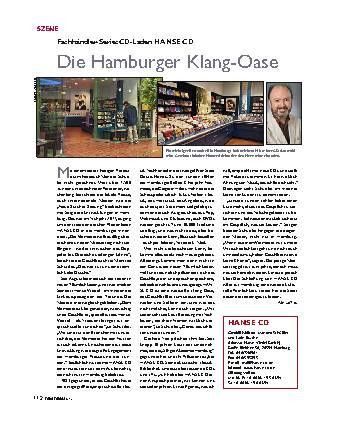 Die Hamburger Klang-Oase