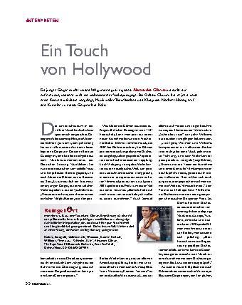 Ein Touch von Hollywood
