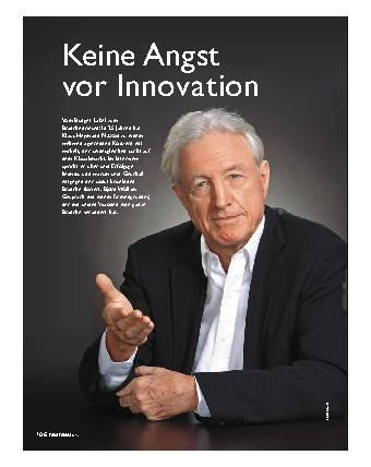 Keine Angst vor Innovation