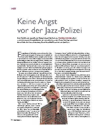 Keine Angst vor der Jazz-Polizei