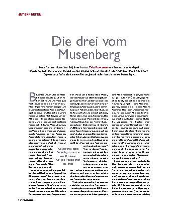Die Drei vom Musenberg
