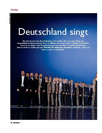 Deutschland singt