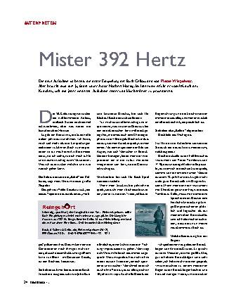 Mister 392 Hertz