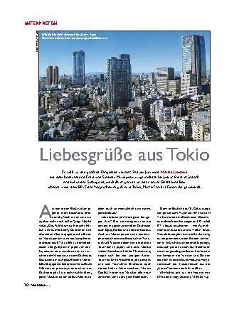 Liebesgrüße aus Tokio