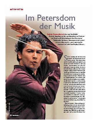 Im Petersdom der Musik