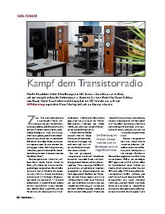 Kampf dem Transistorradio