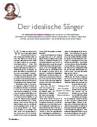 Der idealische Sänger