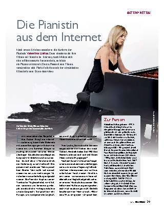 Die Pianistin aus dem Internet