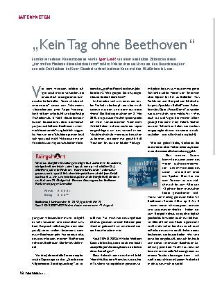 Kein Tag ohne Beethoven