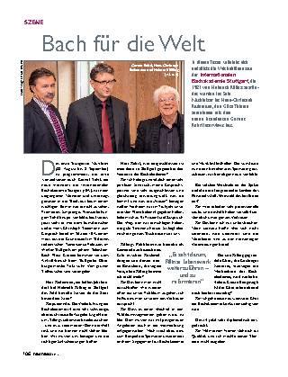 Bach für die Welt