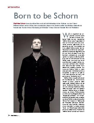 Born to be Schorn