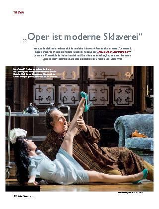 Oper ist moderne Sklaverei