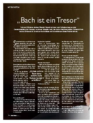 Bach ist ein Tresor