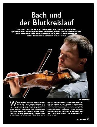 Bach und der Blutkreislauf