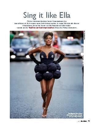 Sing it like Ella