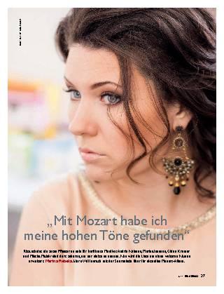 Mit Mozart habe ich meine hohen Töne gefunden
