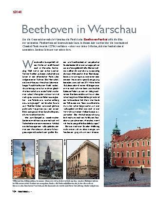 Beethoven in Warschau