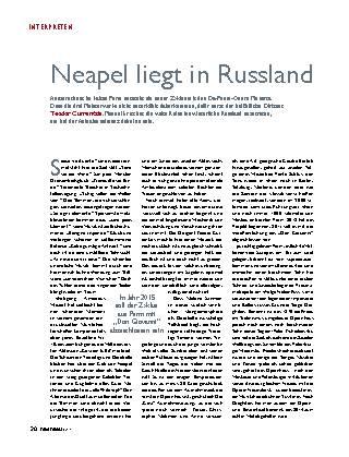 Neapel liegt in Russland