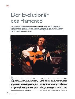 Der Evolutionär des Flamenco