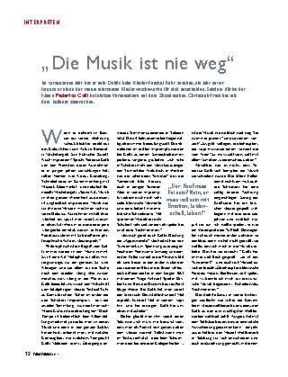 """""""Die Musik ist nie weg"""""""