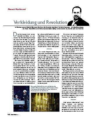 Verkleidung und Revolution