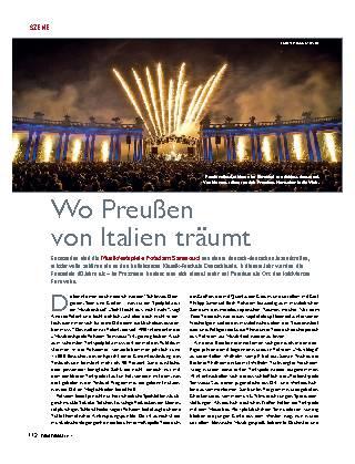 Wo Preußen von Italien träumt
