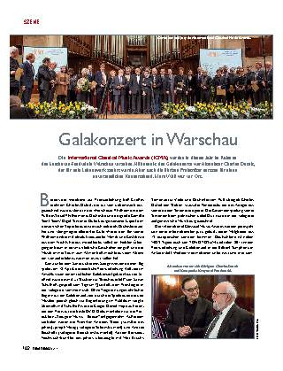 Galakonzert in Warschau