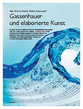 Gassenhauer und elaborierte Kunst