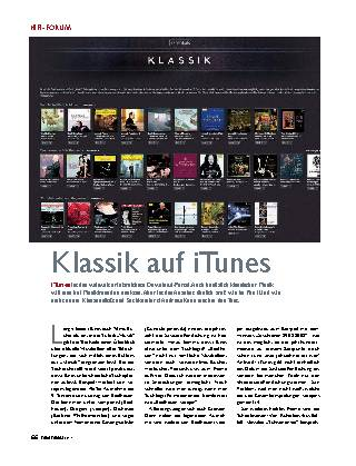 Klassik auf iTunes