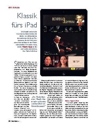 Klassik fürs iPad